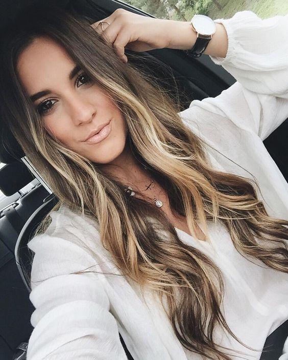 Причёски на длинные волосы 2019 (17)