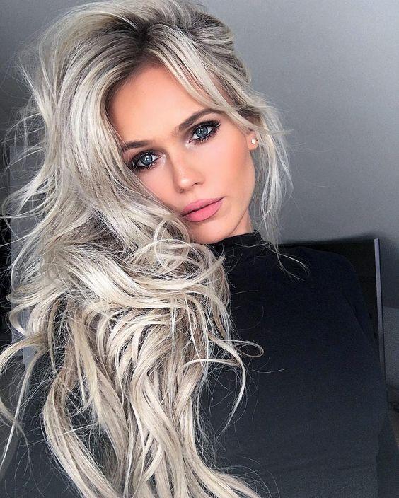 Новогодние причёски 2019 фото (25)
