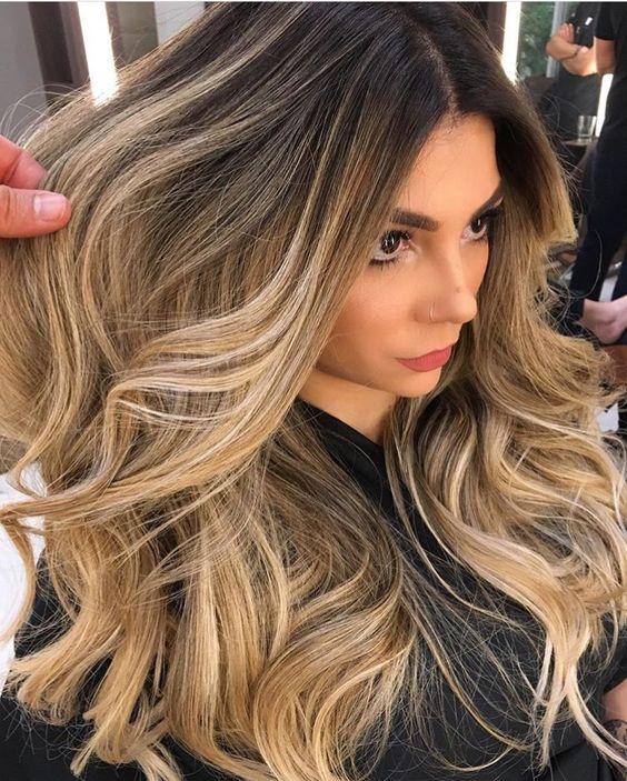 Причёски на длинные волосы 2019 (10)
