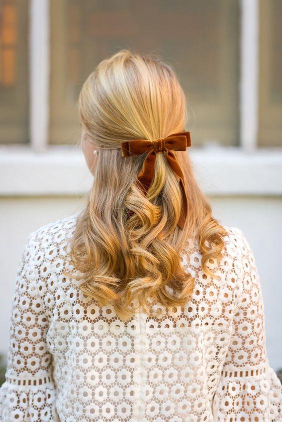 Прически на Новый год 2019 на длинные волосы (39)