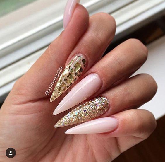 Красивый весенний дизайн ногтей 2019 (3)
