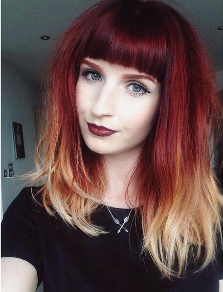 Рыжий цвет волос 2019 (5)