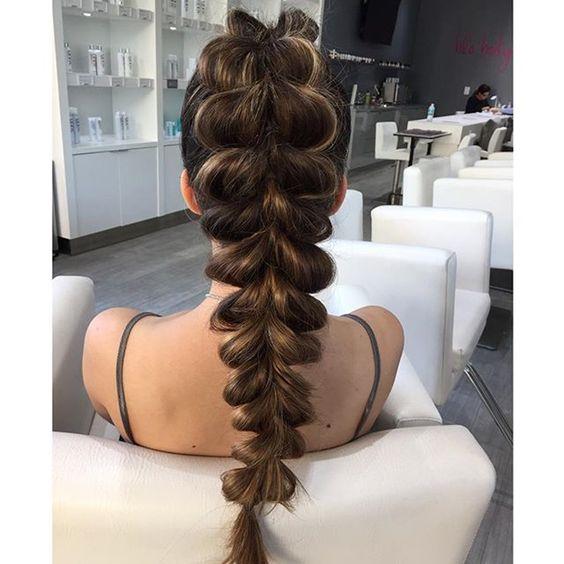 Причёски на длинные волосы 2019 (3)