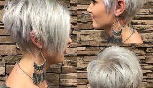 Стрижка Боб на короткие волосы 2019 (4)