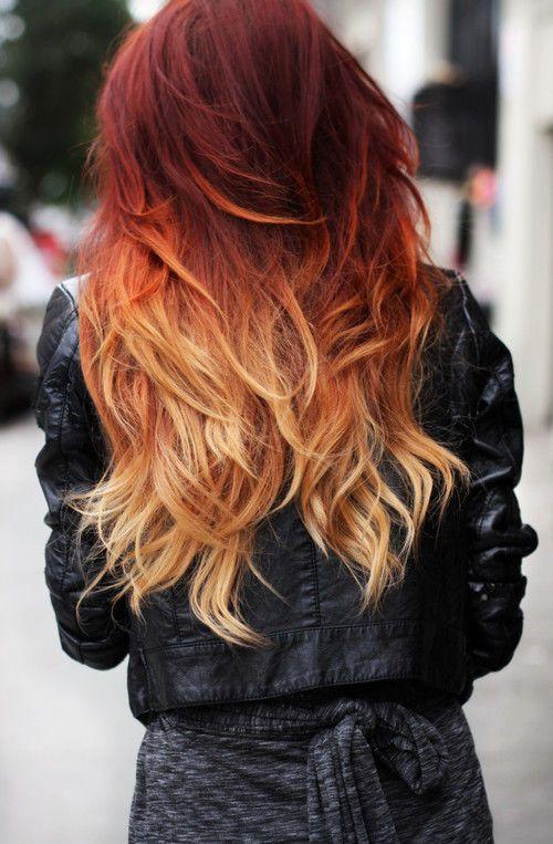 Рыжий цвет волос 2019 (3)