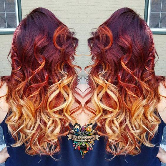 Рыжий цвет волос 2019 (2)