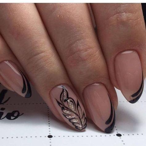 Красивый дизайн ногтей 2019 френч (12)