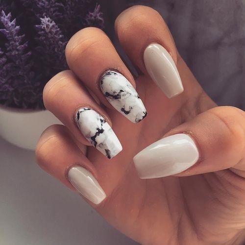 Красивый дизайн ногтей 2019 на короткие ногти (18)