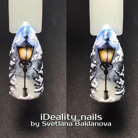 Красивый дизайн ногтей 2019 на короткие ногти (4)