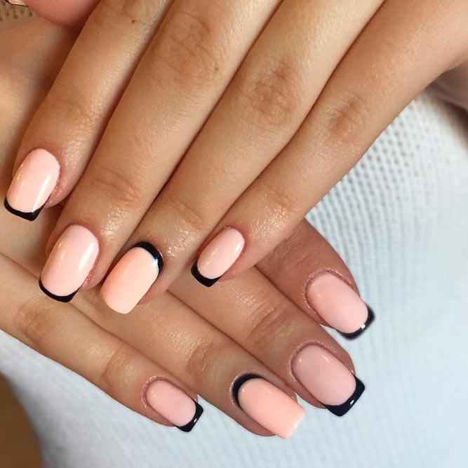Красивый дизайн ногтей 2019 на короткие ногти (41)