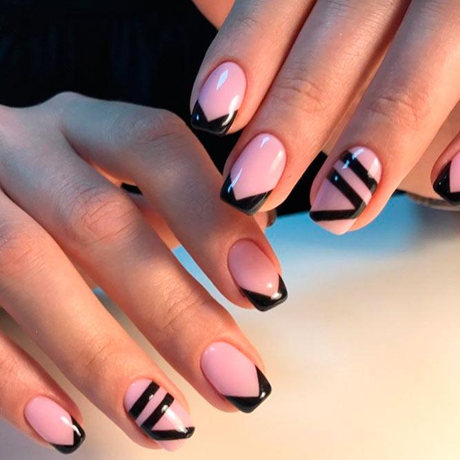 Красивый дизайн ногтей 2019 на короткие ногти (40)