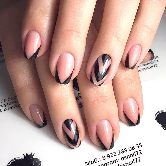 Красивый дизайн ногтей 2019 на короткие ногти (39)