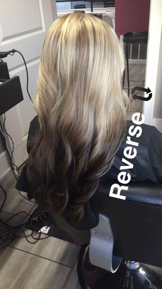 Светлые корни волос (16)