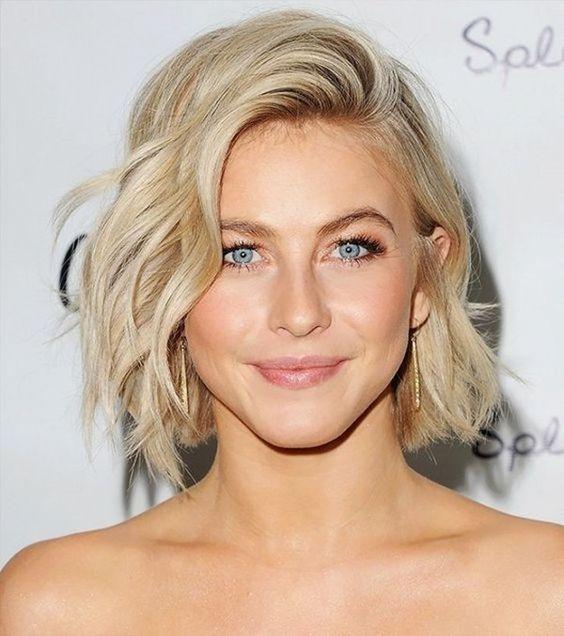 Новогодние причёски на короткие волосы 2019 (24)