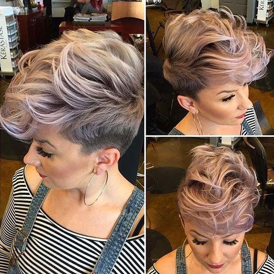 Темные корни светлые волосы (45)