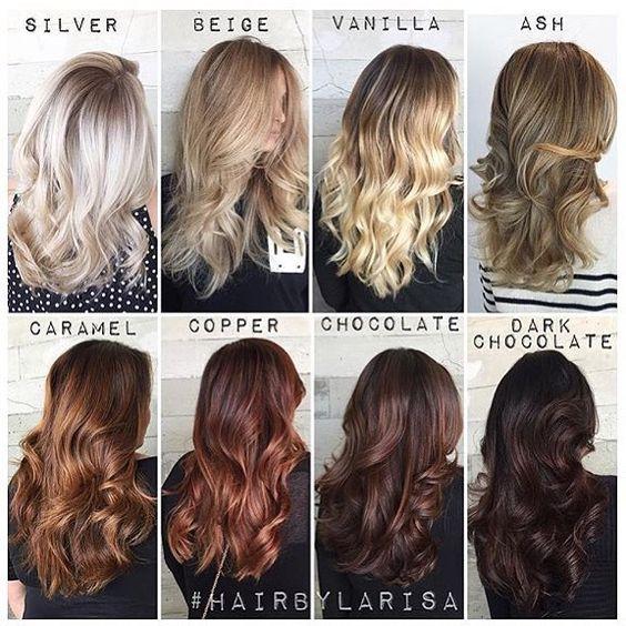 Темные корни светлые волосы (69)