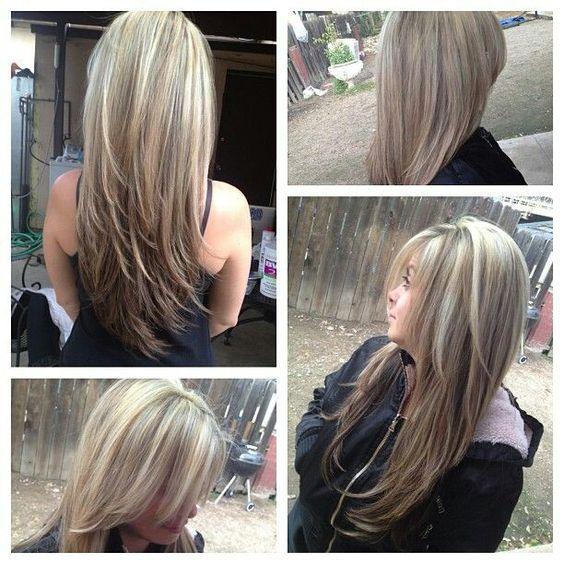 Светлые корни волос (11)