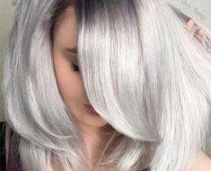 Темные корни светлые волосы (9)