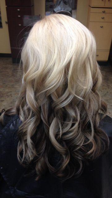 Светлые корни волос (10)