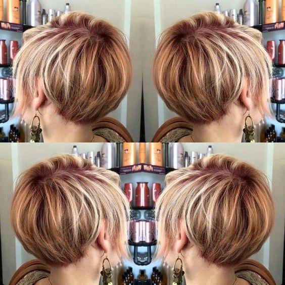 Темные корни светлые волосы (62)