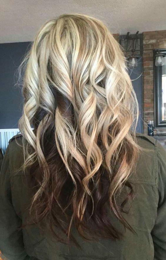 Светлые корни волос (13)