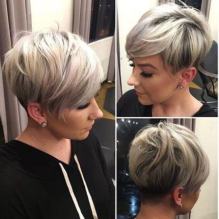 Новогодние причёски на короткие волосы 2019 (38)