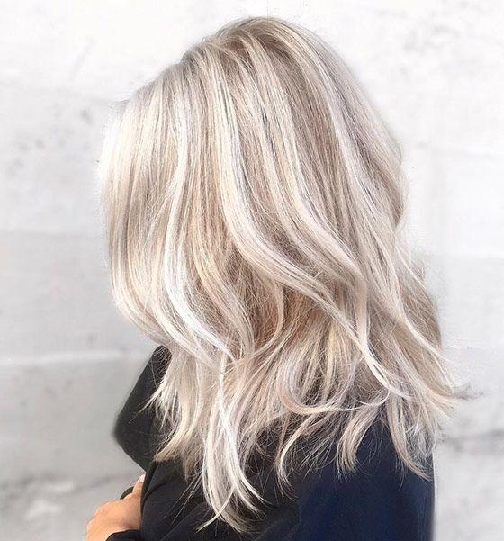 Темные корни светлые волосы (60)