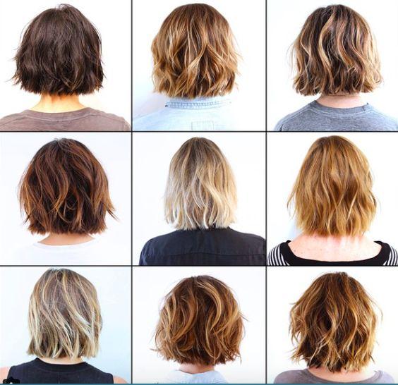 Новогодние причёски на короткие волосы 2019 (22)