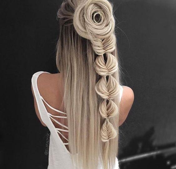 Темные корни светлые волосы (55)