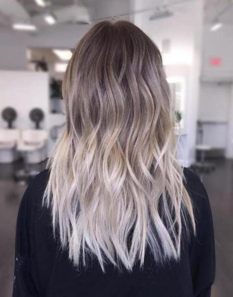 Темные корни светлые волосы (6)