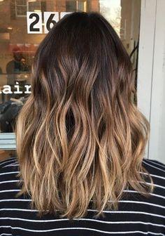 Темные корни светлые волосы (27)
