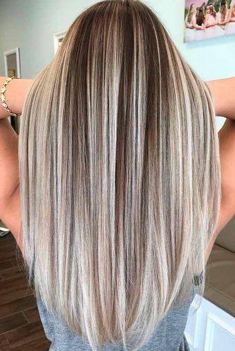 Темные корни светлые волосы (29)