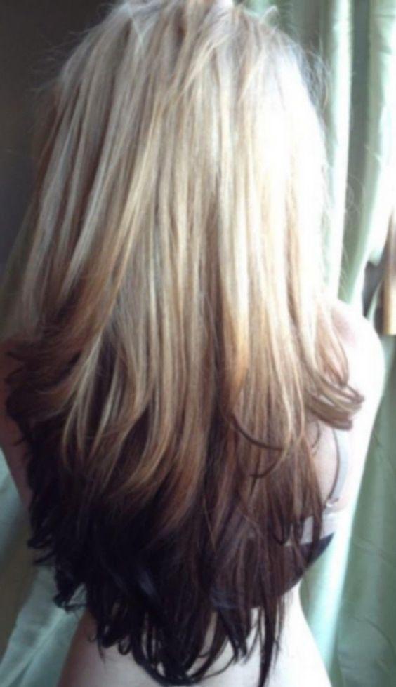 Светлые корни волос (5)
