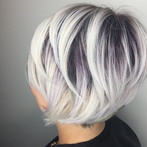 Темные корни светлые волосы (3)