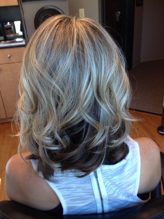 Светлые корни волос (4)