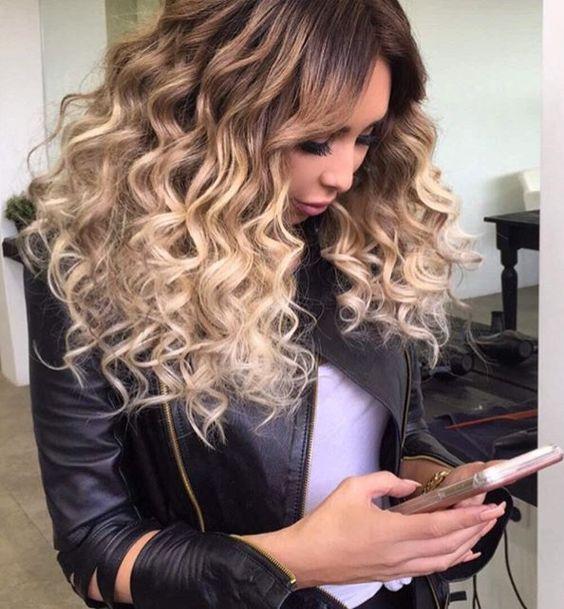 Стрижки на кудрявые волосы 2019 (13)