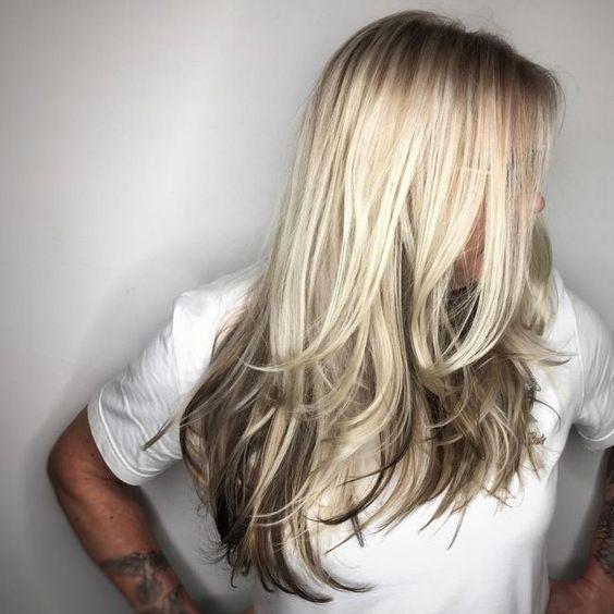 Светлые корни волос (3)
