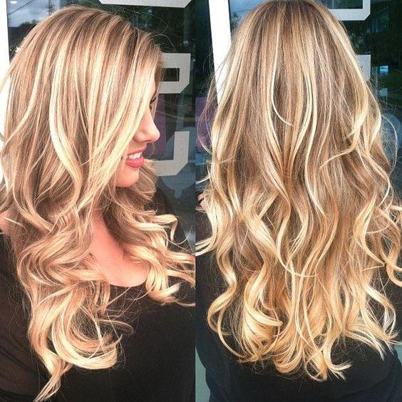 Светлые корни волос (2)