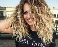 Стрижки на кудрявые волосы 2019 (8)