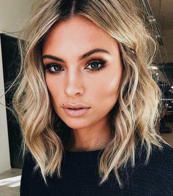 Стрижки на кудрявые волосы 2019 (7)