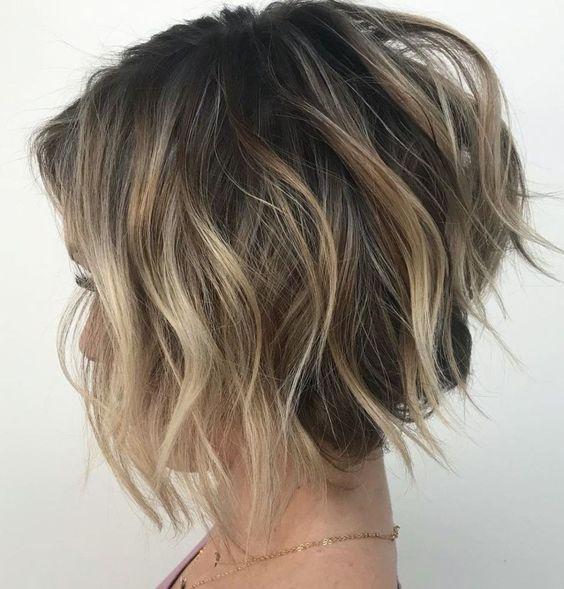 Новогодние причёски на короткие волосы 2019 (5)
