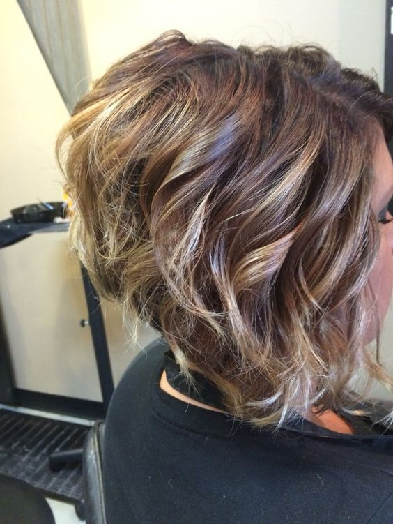 Стрижки на кудрявые волосы 2019 (1)