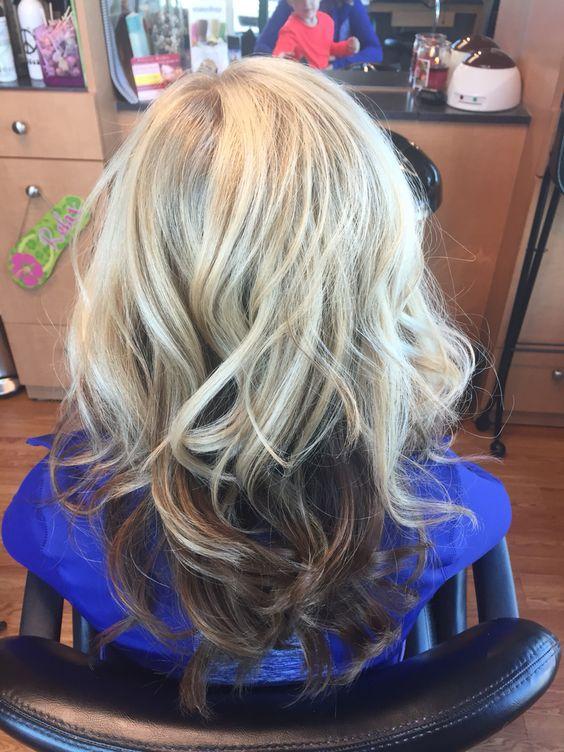 Светлые корни волос (6)