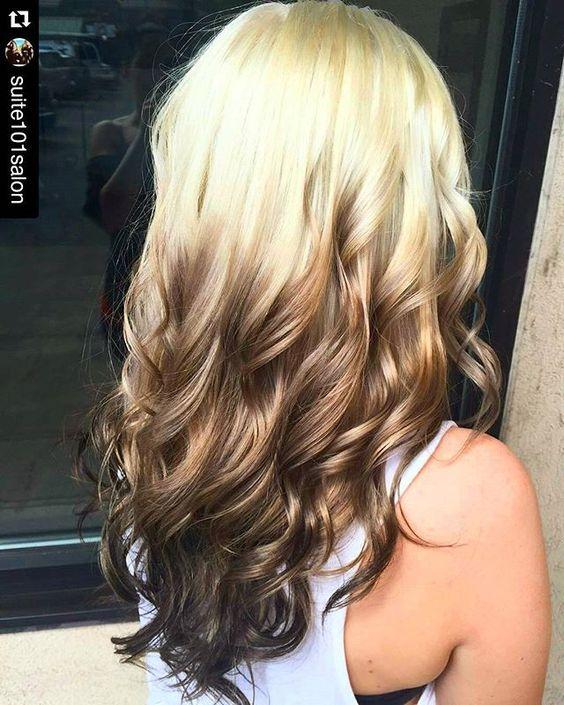 Светлые корни волос (7)