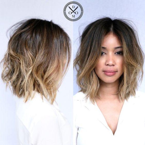 Новогодние причёски на короткие волосы 2019 (2)