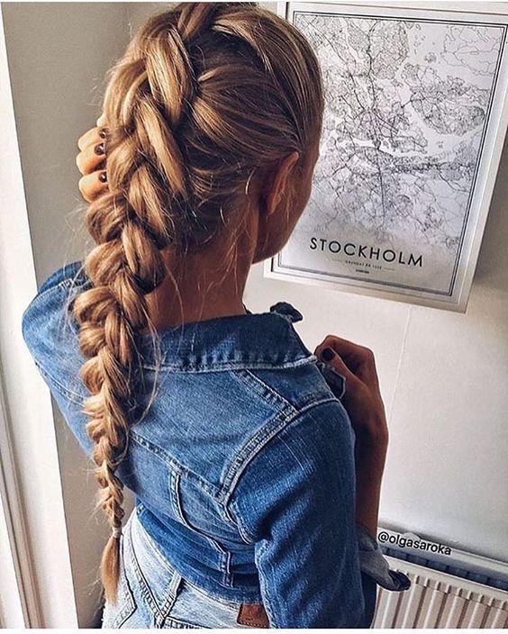 Причёски на выпускной 2019 для средних волос (27)