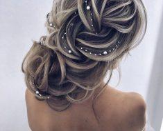 Причёски на выпускной 2019 для средних волос (2)