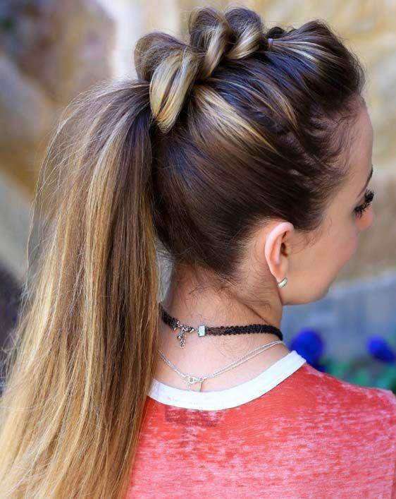 Причёски на выпускной 2019 для средних волос (24)
