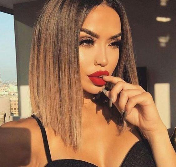 Причёски на выпускной 2019 для коротких волос (21)
