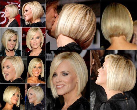 Короткие стрижки Блонд 2019 (29)